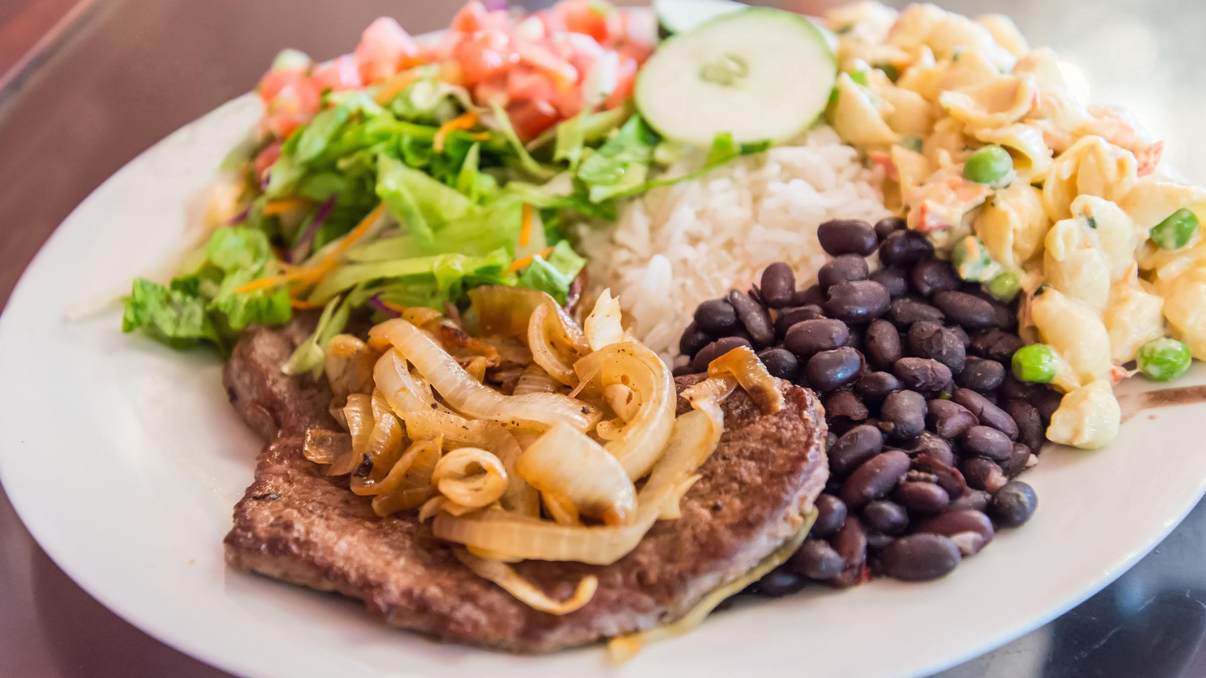 غذاهای کاستاریکا