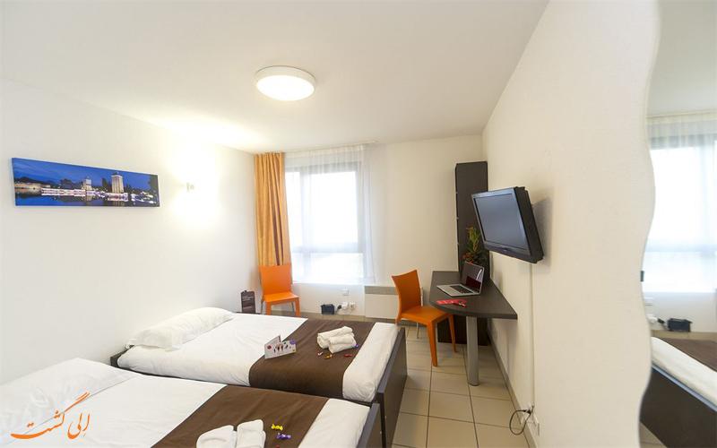 امکانات اتاق های هتل سریس استراسبورگ
