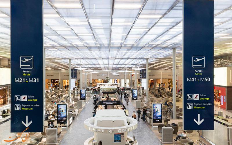 فرودگاه شارل دوگل پاریس