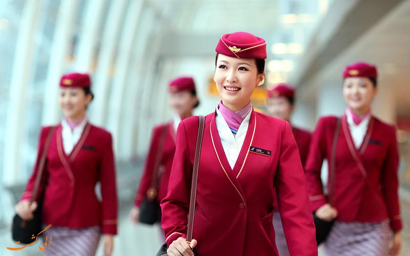 مهمانداران هواپیمایی چین جنوبی