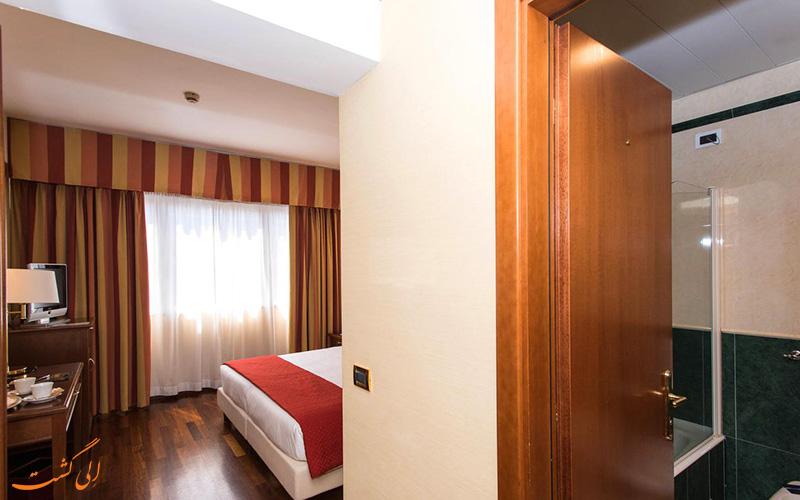 امکانات اتاق های هتل سیسرون رم