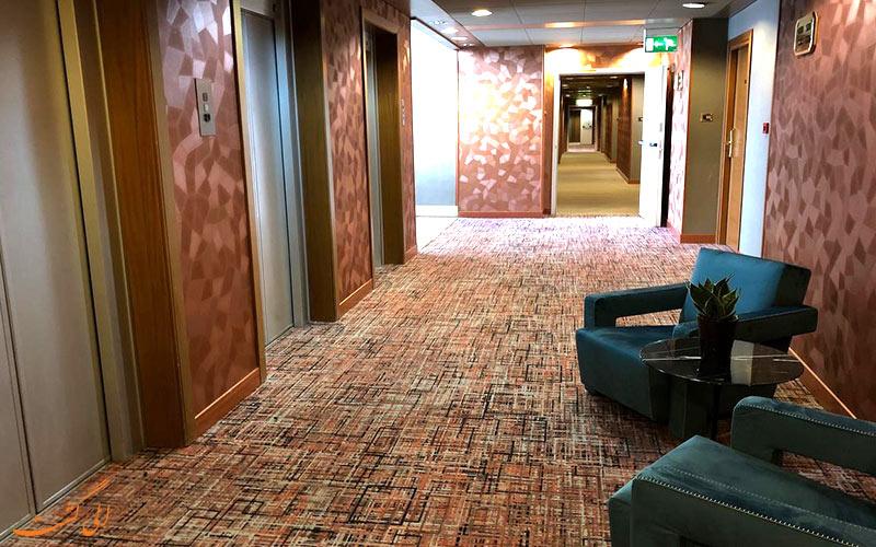 هتل سیسرون رم- راهروی ورودی