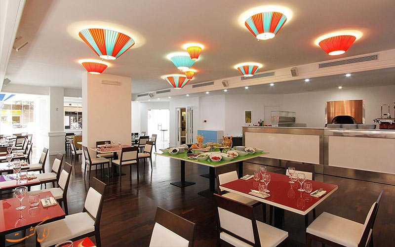 هتل سیسرون رم- رستوران هتل