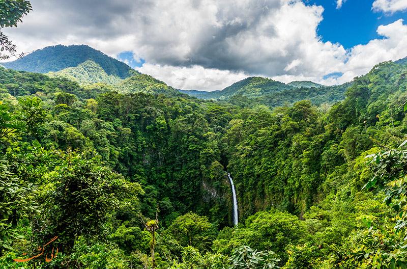 جنگل های بارانی کاستاریکا