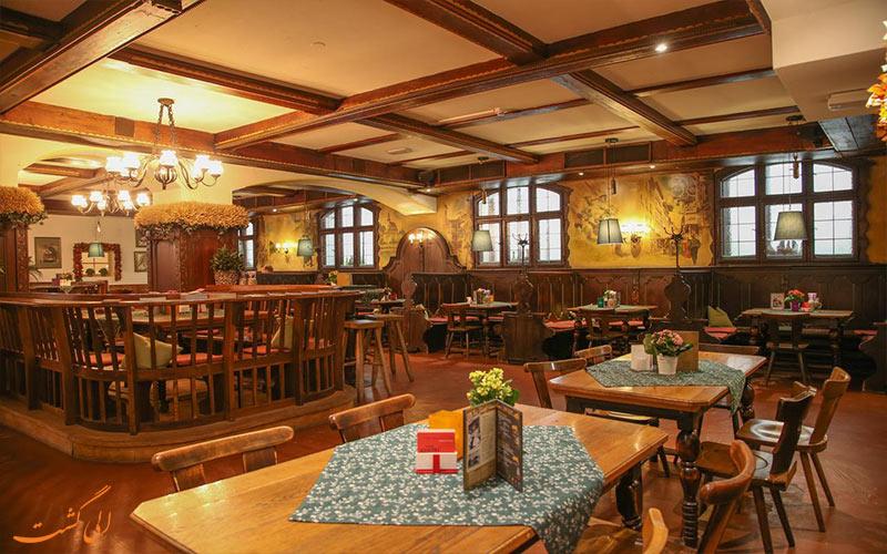 هتل کراون پلازا سالزبورگ - رستوران