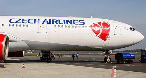 معرفی شرکت هواپیمایی چک ایر لاینز