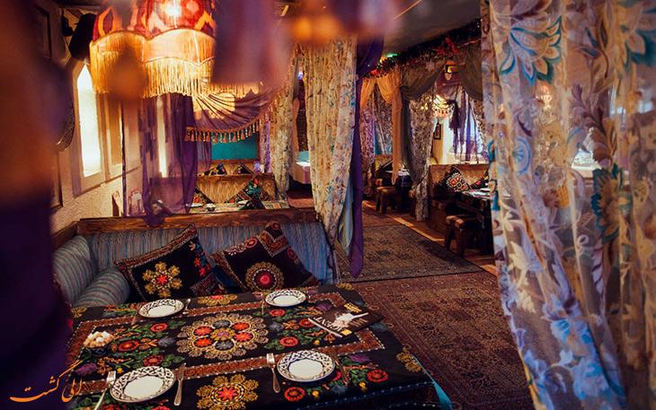 رستوران شهر کازان