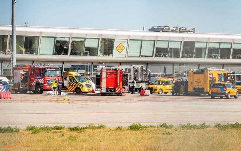 راه های دسترسی به فرودگاه بین المللی آیندهوون