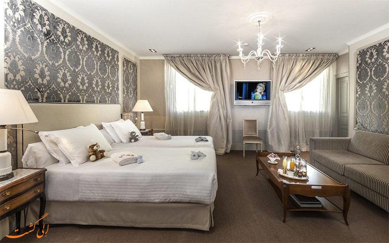 امکانات اتاق های هتل ای ال پالاس بارسلونا