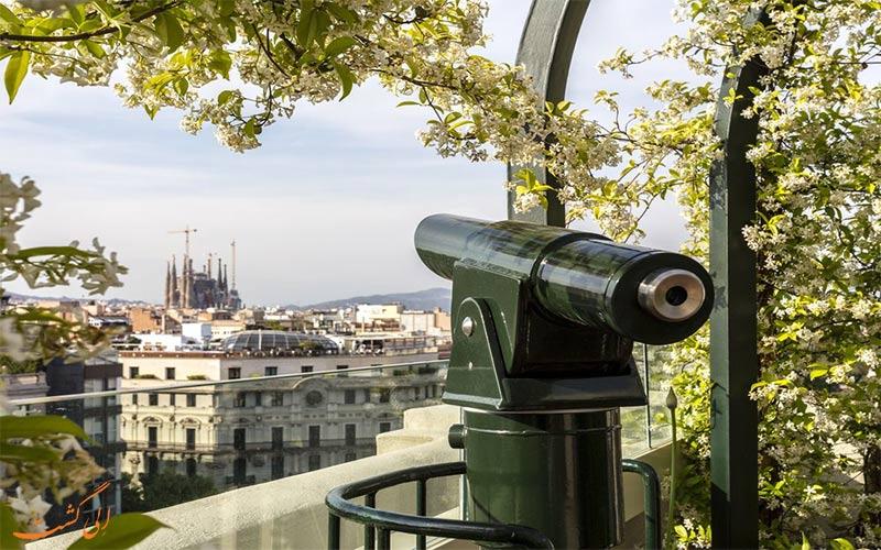 El Palace- eligasht.com تراس