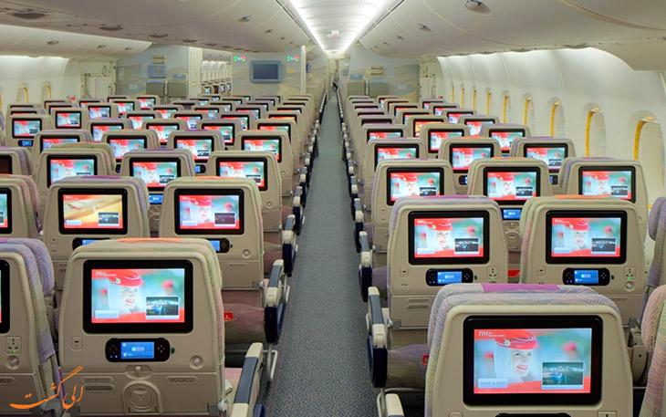 مقایسه صندلی هواپیمایی امارات با قطر