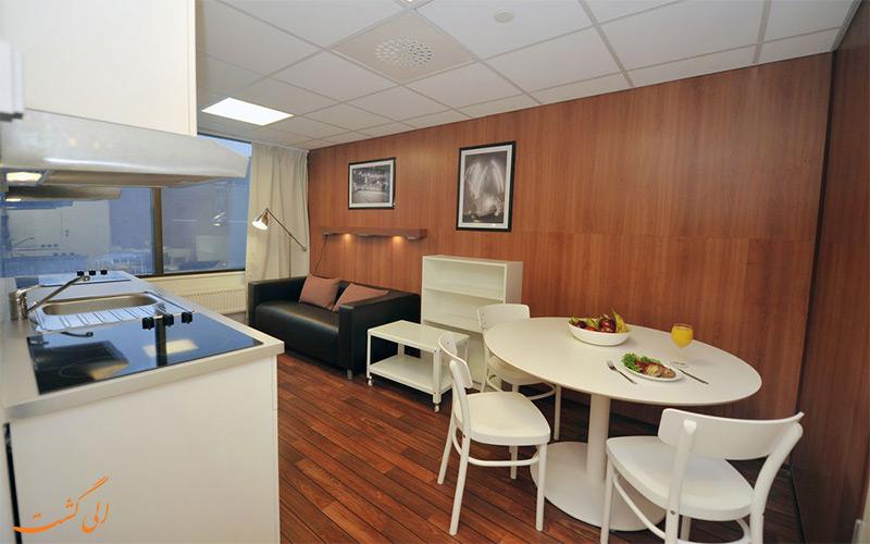 امکانات تفریحی هتل آپارتمان فورنوم اولو- صبحانه در اتاق