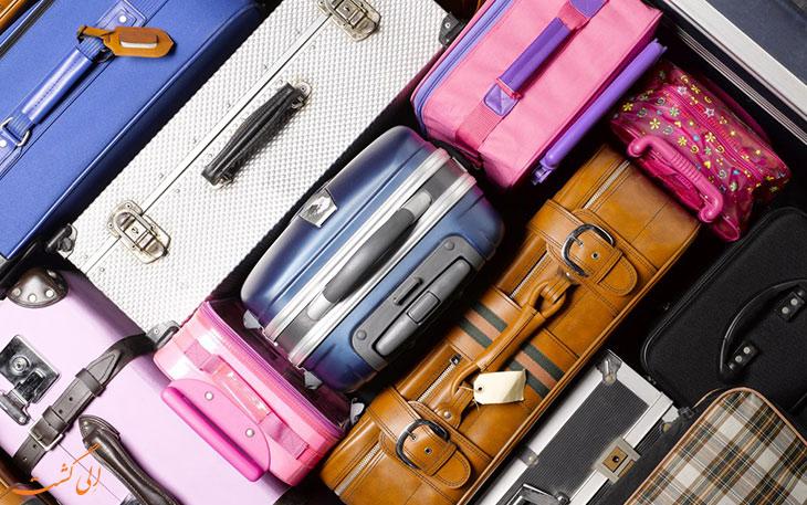چمدان قابل تبدیل به کت فرودگاهیچمدان قابل تبدیل به کت فرودگاهی