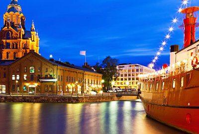 شهر هلسینکی در کشور فنلاند