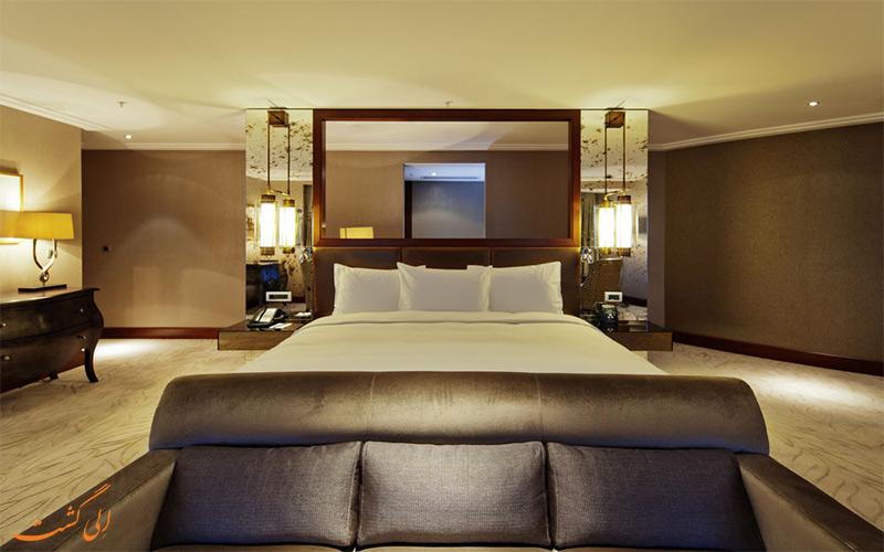 امکانات اتاق های هتل هیلتون باکو