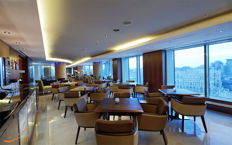 هتل هیلتون باکو- رستوران