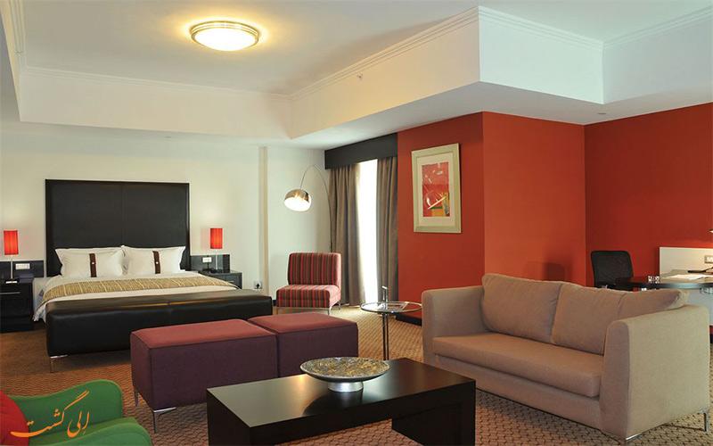 امکانات اتاق های هتل هالیدی این سندتون ژوهانسبورگ