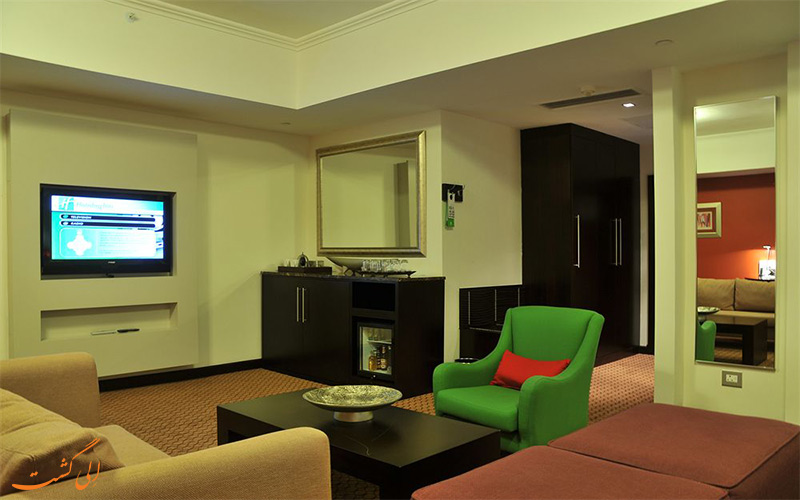 انواع اتاق های هتل هالیدی این سندتون ژوهانسبورگ