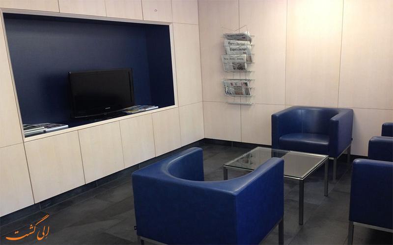 خدمات رفاهی هتل بریستول زوریخ - تلویزیون در لابی