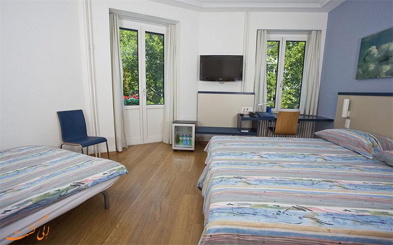 امکانات اتاق های هتل بریستول زوریخ