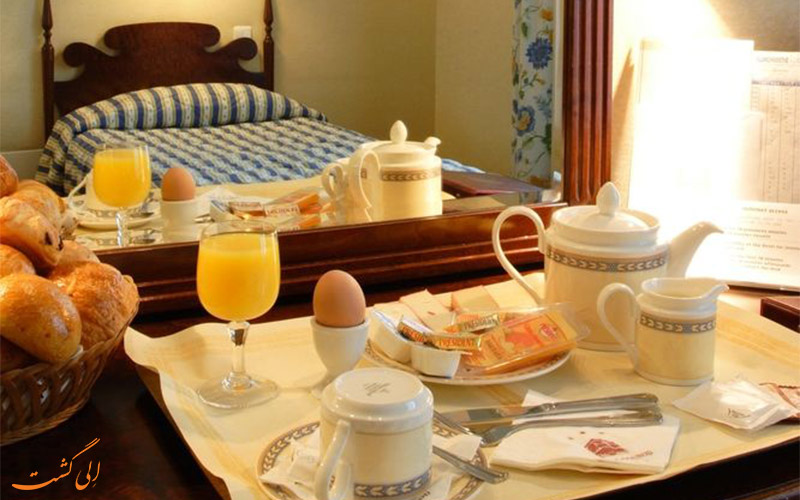 Hotel Gounod Nice- eligasht.com صبحانه در اتاق