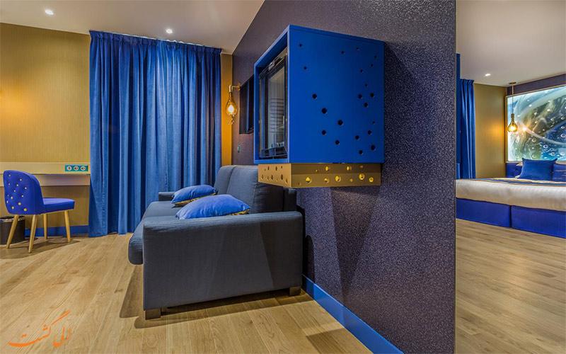 Hotel Les Bulles de Paris- eligasht.com اتاق
