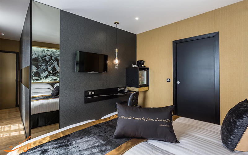 Hotel Les Bulles de Paris- eligasht .com اتاق های هتل