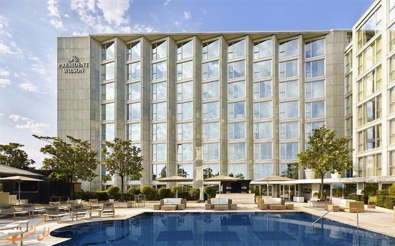 Hotel President Wilson Genf- eligasht.com نمای هتل