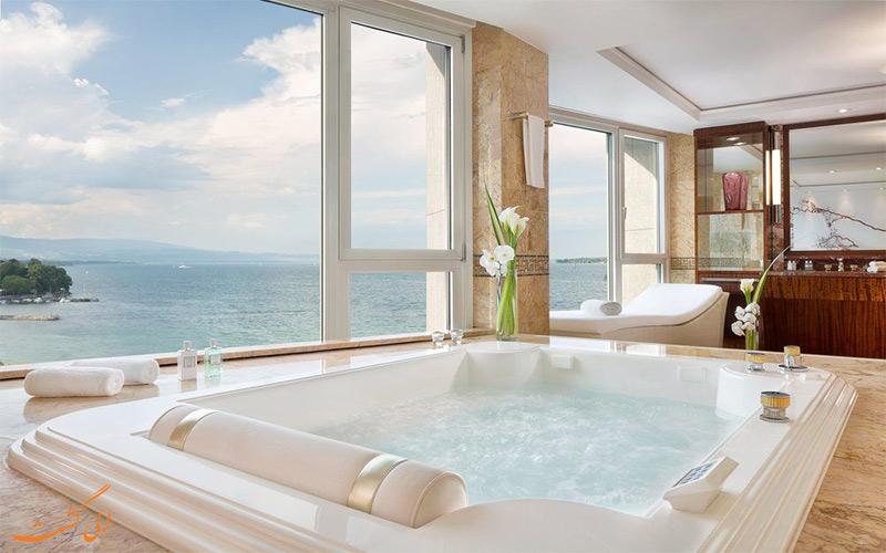 هتل پرزیدنت ویلسون ژنو- وان حمام