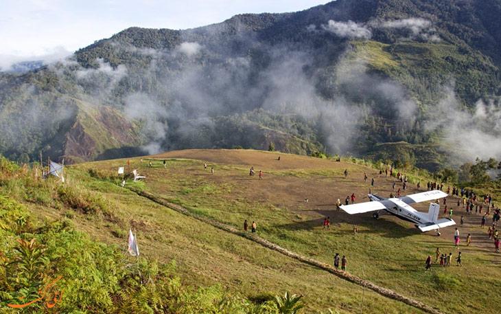 کوتاه ترین مسیرهای پروازی جهان اندونزی