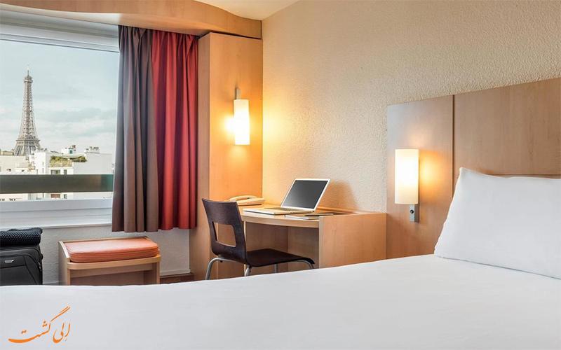 امکانات اتاق های هتل آیبیس تور ایفل پاریس
