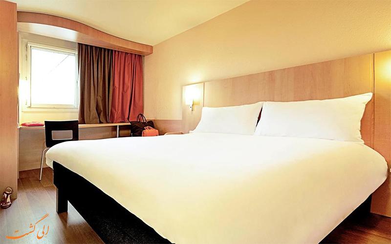 انواع اتاق های هتل آیبیس تور ایفل پاریس