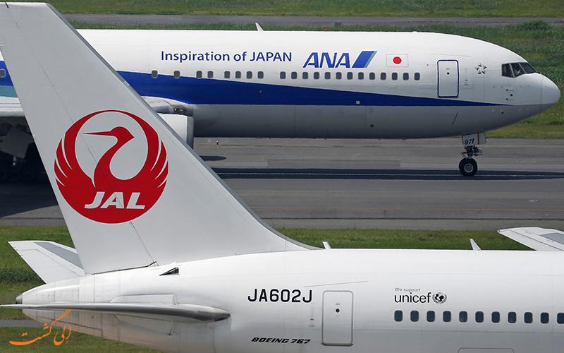 هواپیماهای ژاپن ایرلاینز