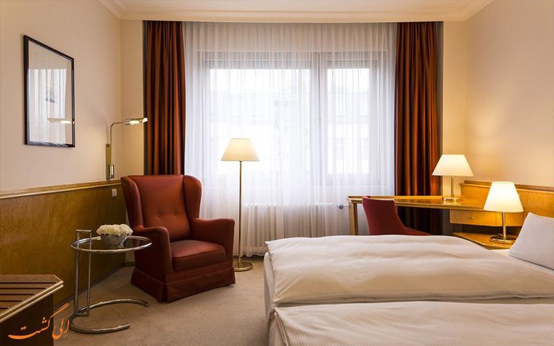 انواع اتاق های هتل بریستول برلین