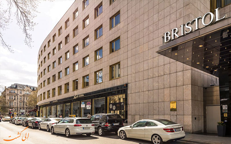 Kempinski Bristol- eligasht.com بیرون هتل