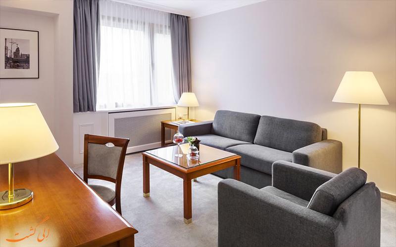 اتاق های هتل بریستول برلین- فضای نشیمن