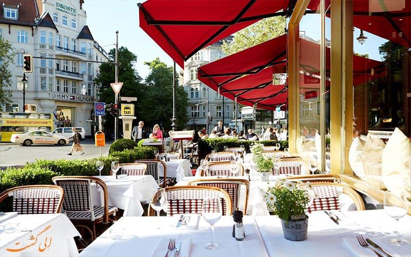 امکانات تفریحی هتل بریستول برلین- فضای بیرون رستوران