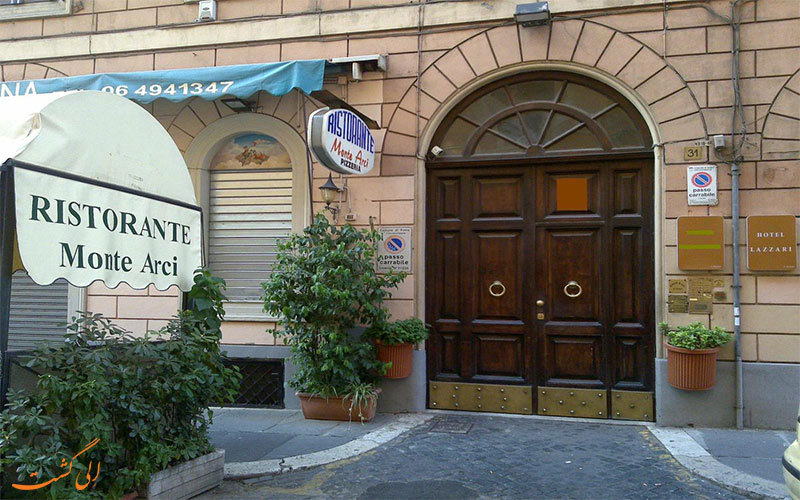 هتل لازاری رم Hotel Lazzari