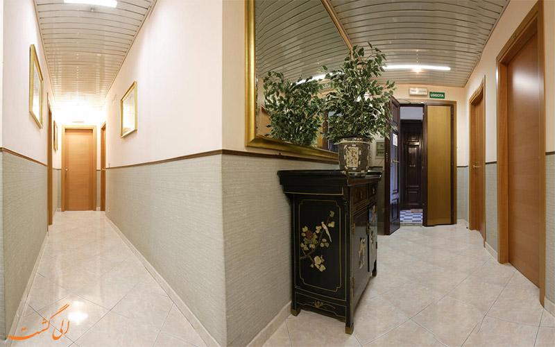 هتل لازاری رم - راهرو