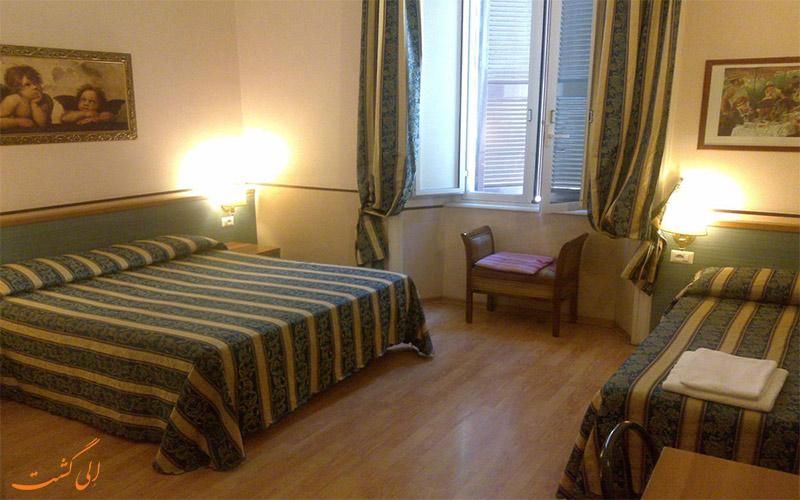 انواع اتاق های هتل لازاری رم
