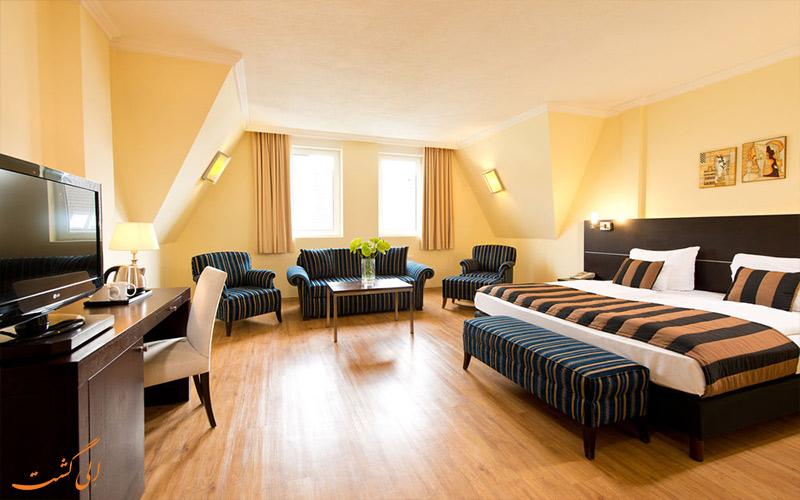 امکانات اتاق های هتل لئوناردو بوداپست