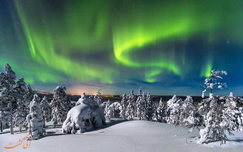 ناحیه Luosto، فنلاند