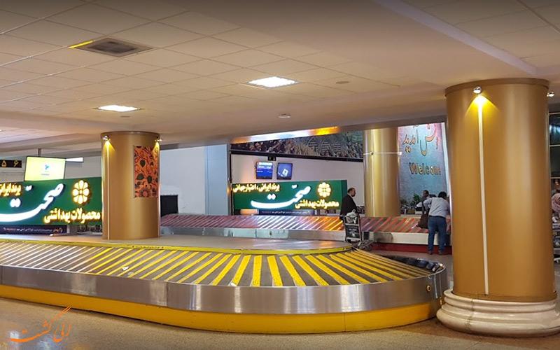 ترمینال های فرودگاه بین المللی مشهد