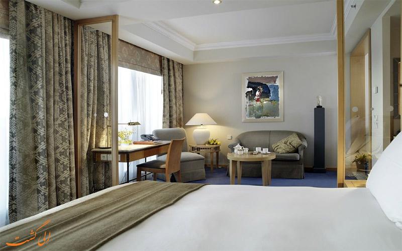 اتاق های هتل متروپولیتن آتن