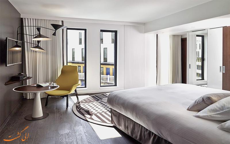 امکانات اتاق های هتل مولیتور پاریس