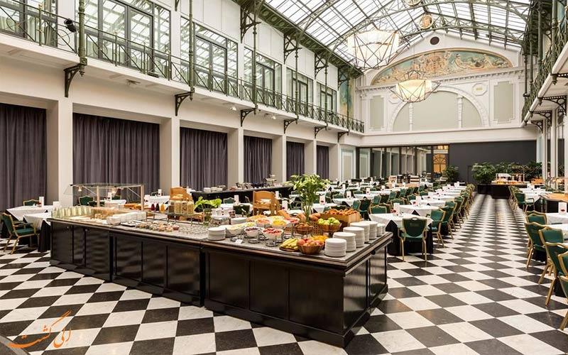 هتل ان اچ کالکشن گرند آمستردام- رستوران