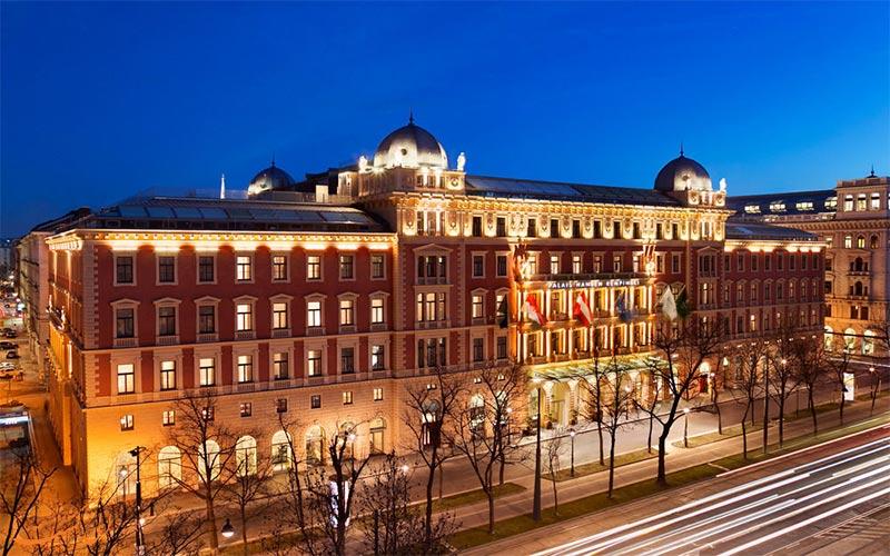 Palais Hansen Kempinski Vienna- eligasht.com نمای شب هتل