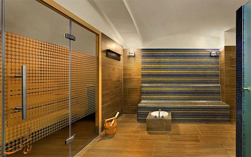 هتل پلاس هانسن کمپینسکی وین - سونا و اتاق بخار