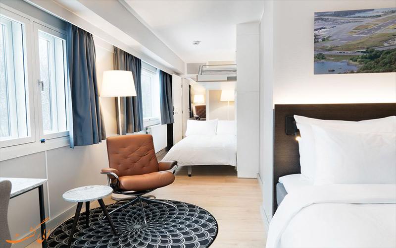 امکانات اتاق های هتل رادیسون بلو پارک اسلو