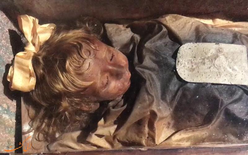 قبر Rosalia Lombardo